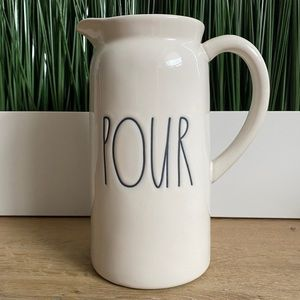 RAE DUNN Pour Pitcher Ivory